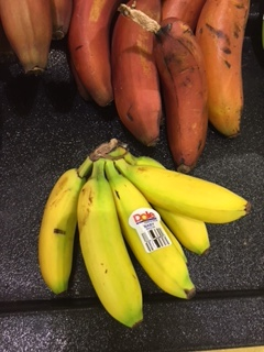 tiny bananas